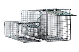 2pc Value Pack Catch Release Heavy Duty Cage Live Animal Tra