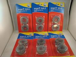 12 Lot Washing Machine Lint Traps Snare Filter Screens Alumi
