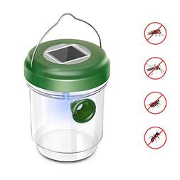 pinnacleT1 Wasp Trap Catcher,Life Outdoor Solar Powered Fly