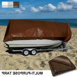 Waterproof Tarp Heavy Duty Protect Outdoor Furniture Grill W