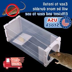 White Humane Rat Trap Cage Animal Pest Rodent Mice Mouse Bai