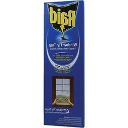 WINDOW FLY TRAP FLIES GNATS MOTHS FLYING INSECTS NO INSECTIC