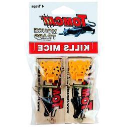 Tomcat Wooden Mouse Traps, 4-Pack - Mouse Trap Killer  - *Fr