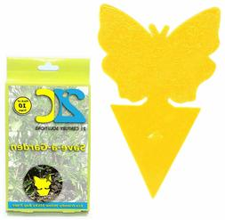 Yellow Dual Fly Traps for Gnat Whiteflies Fungus Gnats Insec