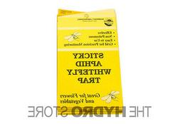 Yellow Sticky White Fly Traps 5 pack insect control economic